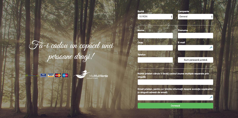Donează pentru Asociația Mai Mult Verde